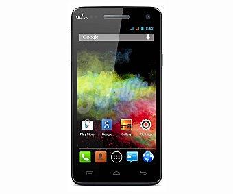 WIKO Smartphone libre RAINBOW NEGRO 1 unidad