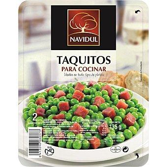 Navidul Taquitos de jamón serrano pack 2 x 70g envase 140 g Pack 2 x 70g