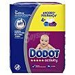 Toallitas húmedas para bebé Pack 4 x 54 u Dodot Activity