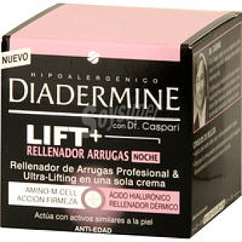 Diadermine Crema Lift-Dermorrel. de noche Pack 1 unid. + Regal