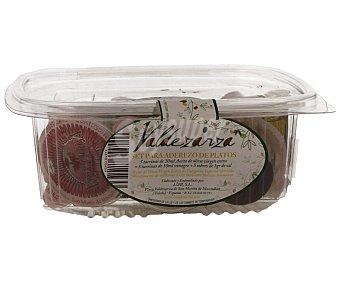 VALDEZARZA Set para aderezo de platos (5 tarrinas de 20ml de aceite de oliva virgen extra + 5 tarrinas de 10ml de vinagre + 5 sobres de 1g de sal) 15 unidades