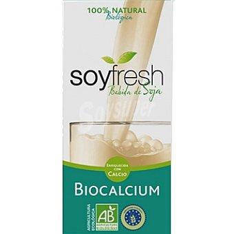 Soyfresh Bebida de soja con calcio 100% natural ecológica Envase 1 l