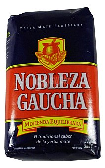 Nobleza Gaucha Infusion yerba mate 500 g