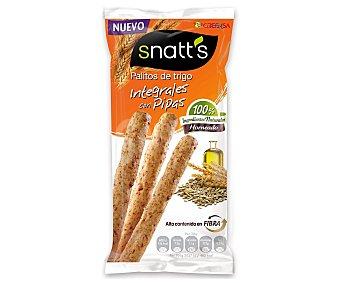 GREFUSA SNATT'S Palitos de trigo integrales con pipas bolsa 55 g