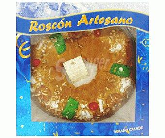 Auchan Roscón de Reyes Grande Natural Sin Relleno 1kg