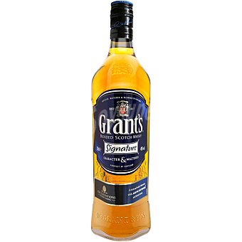 Grant's Whisky escocés Signature Botella de 70 cl