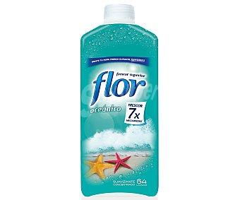 Flor Suavizante concentrado con aroma oceánico 64 dosis