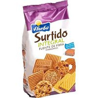 Florbú Surtido galletas integral Bolsa 420 g