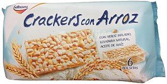 GALBUSERA Crackers con arroz  Paquete de 228 g
