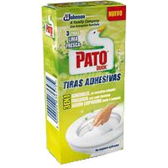 Pato Limpiador wc tiras lima Pack 27