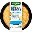 Tortilla fresca sin cebolla Envase 600 g Fuentetaja
