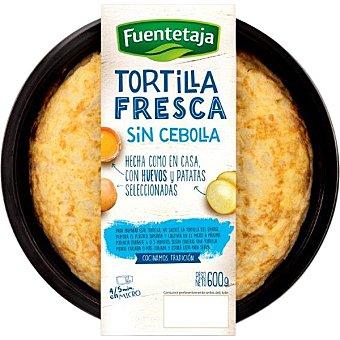 Fuentetaja Tortilla fresca sin cebolla Envase 600 g