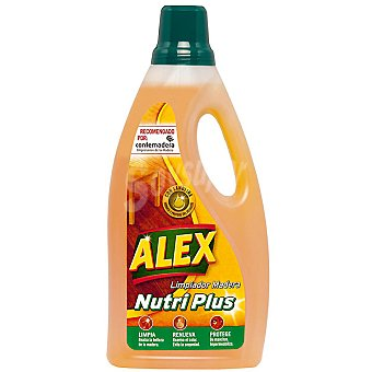 ALEX EXPRESS Limpiador madera Nutri Plus limpia renueva y protege botella 1,5 ml Botella 1,5 ml