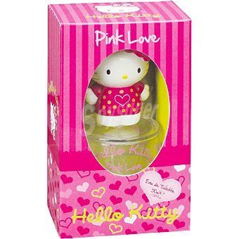 HELLO KITTY Pink Love eau de toilette infantil Spray 50 ml