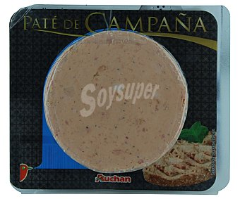 Auchan Paté de campaña 100 gramos