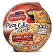 Pizza de jamón y queso con salsa suave 360 g Campofrío