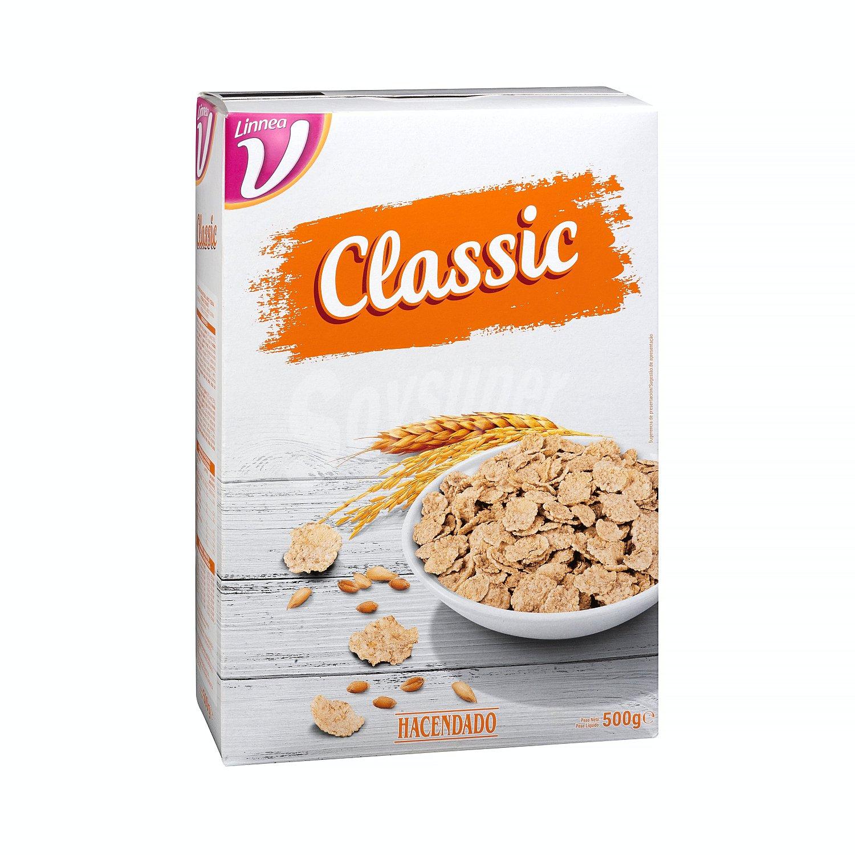 Hacendado Cereal Copos De Arroz Y Trigo Integral Classic Caja 500 G