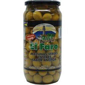 Faro Aceitunas sabor manzanilla-anchoa Frasco 900 g