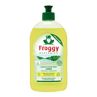 Froggy Lavavajillas bálsamo limón Ecológico 500 ml
