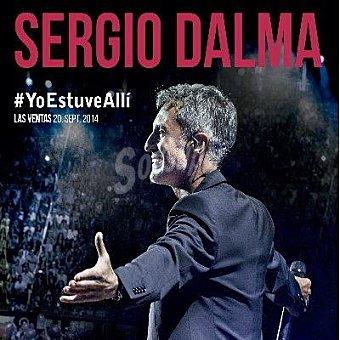"Sergio Dalma ""directo:yo estuve alli"" 2cd+DVD"