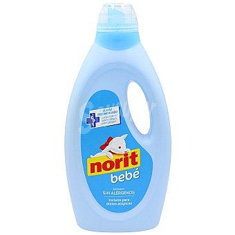 Norit Detergente para ropa de bebé sin alérgenos Botella 1,125 l (32 lavados)