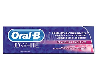 Oral-B Dentífrico 3D White Blancura radiante 75 ml
