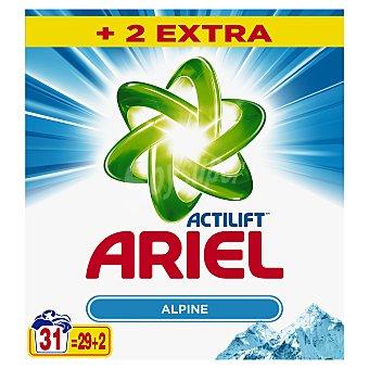 Ariel Actilift detergente máquina en polvo maleta 29 + 2 cacitos 29 + 2 cacitos