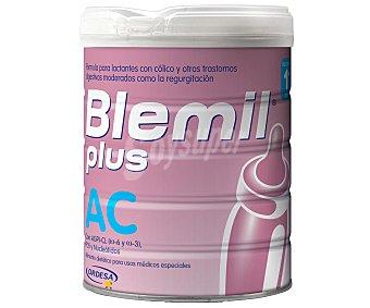 Blemil Plus AC leche para lactantes desde el 1er día indicada para el tratamiento dietético del cólico del lactante Bote 800 g