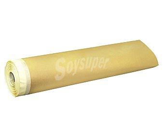RULO PLUMA Rollo de papel protector con cinta de carrocero de 30 centímetros de ancho y 20 metros de largo 1 unidad