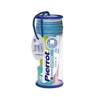 Pierrot Kit dental viaje (cepillo + dentífrico + hilo dental) 1 ud
