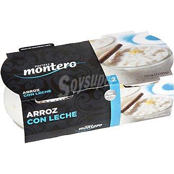 Montero Arroz con leche Pack 2x125 g