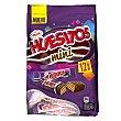 Chocolatinas con galleta Bolsa 162 g (12 unidades) Huesitos Valor
