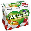 Danacol para beber de fresa 6 unidades de 100 g Danacol Danone