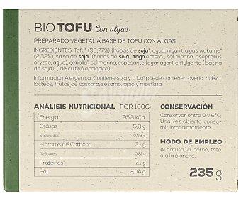 Ahimsa Tofu con algas biológico 230 gramos
