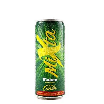 Mixta Mahou Cerveza con limón Lata 33 cl