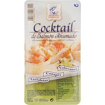 Ahumados Domínguez Cóctel de salmón ahumado Envase 150 g