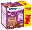 Batido sustitutivo chocolate con leche Caja 5 unidades  Bimanan