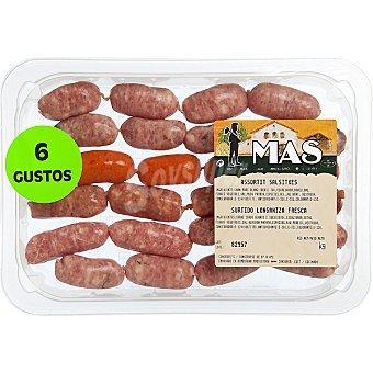 MAS Surtido de salchichas especial para barbacoas peso aproximado Bandeja 350 g