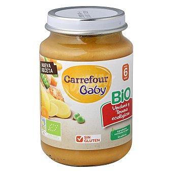 Carrefour Bio Tarrito de verduras y ternera 200 g