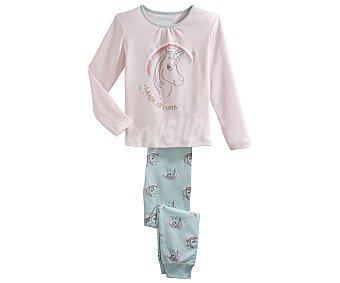 In Extenso Pijama largo para niña, color rosa, talla 8