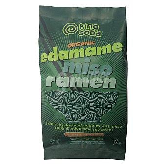 King Soba Edaname miso ramen orgánico 80 g