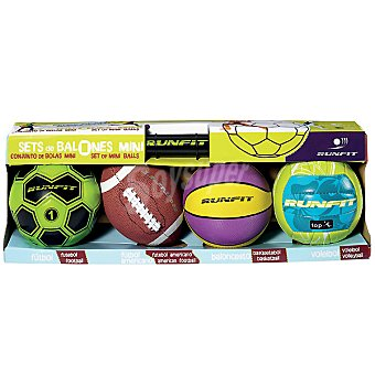 RUNFIT set balones mini