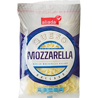 ALIADA Queso mozzarella rallado  bolsa de 200 g