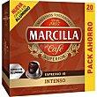 Café expreso 10 intenso caja 20 monodosis Marcilla