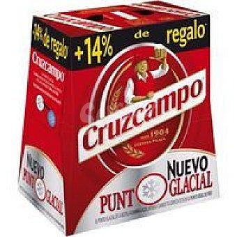 CRUZCAMPO Cerveza pack 6x0,85l