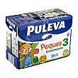 Preparado lácteo infantil crecimiento a partir 1 año Puleva Peques 3 Brick pack 6 x 1 l - 6 l Puleva Peques