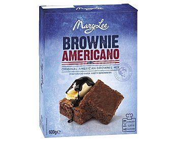 Mary Lee Preparado para Brownie 600 Gramos