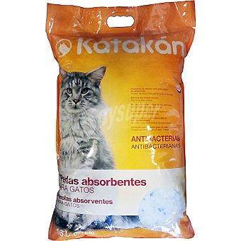 Perlas absorbentes para gatos Bolsa 16 l