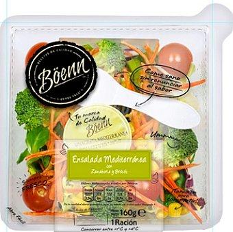 Boenn Ensalada lista para tomar mediterránea con zanahoria y brócoli Tarrina 160 g