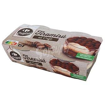 Carrefour Tiramisú Original Pack de 2 unidades de 80 g